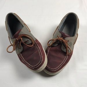 Sperry Top-Sider two tone boat shoes Mens size 10M